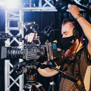 Kameramann in der Esport Factory